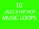 Thumbnail Over 10 Jazz and Hip Hop Music Loop Tracks